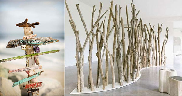 Le bois flott une id e r cup sympa moving tahiti for Grande branche bois flotte