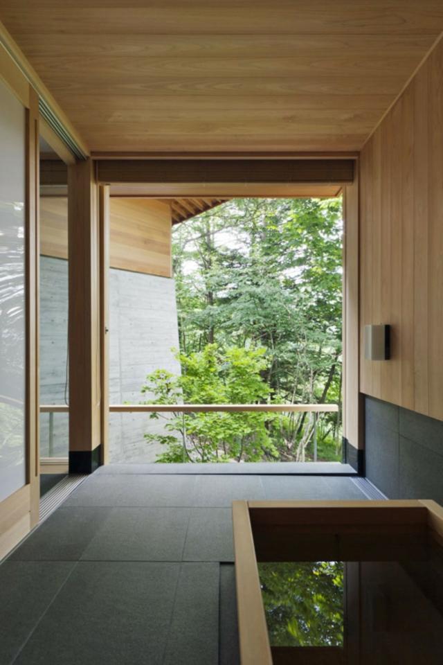Salle de bain japonaise for Salle bain japonaise
