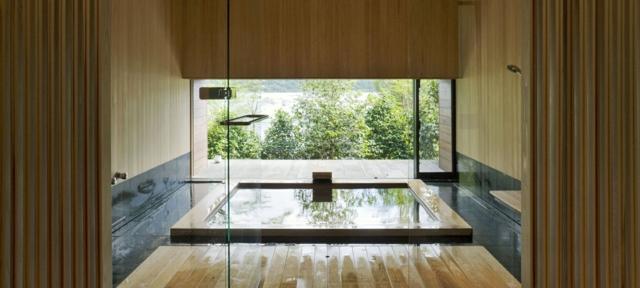 Une salle de bain japonaise - Moving Tahiti