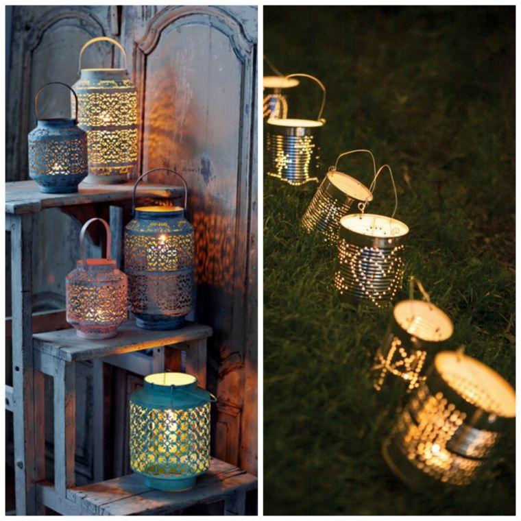 les lanternes une lumi re douce pour votre jardin. Black Bedroom Furniture Sets. Home Design Ideas