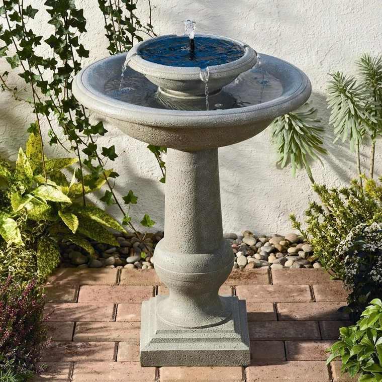 Fontaine Solaire De Jardin