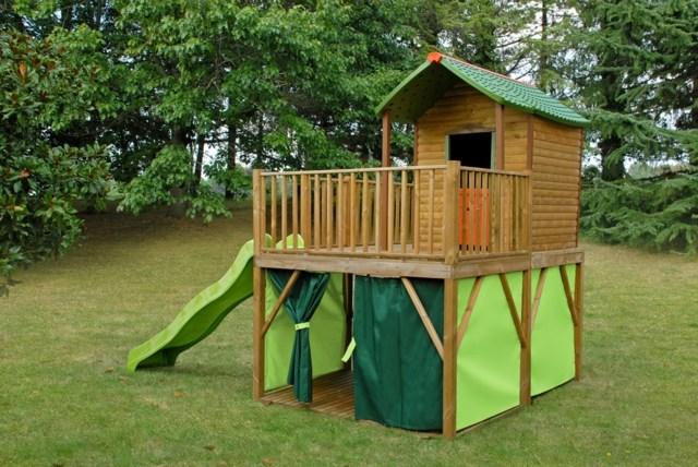 Une mini maison dans votre jardin pour le bonheur de vos for Jardin bonheur 2015