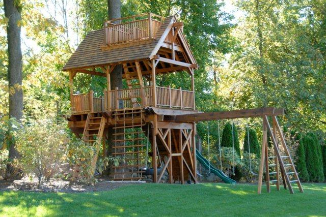 maison jardin bois jeux moving tahiti. Black Bedroom Furniture Sets. Home Design Ideas