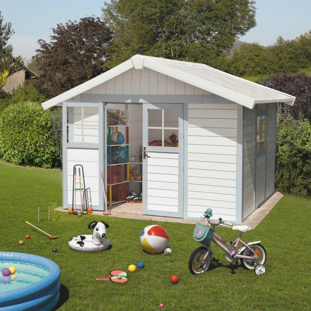 Maisonnette moderne enfants jardin moving tahiti - Maisonnette de jardin pour enfant ...