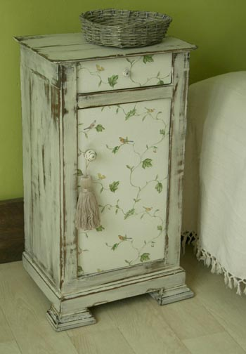 Patiner un meuble pour un style shabby chic moving tahiti - Patiner meuble ...