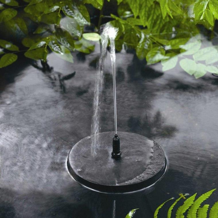 Fontaine solaire de jardin un choix sage et colo for Pompe solaire fontaine