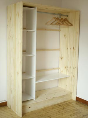 diy r alisez son propre dressing en bois et lin. Black Bedroom Furniture Sets. Home Design Ideas