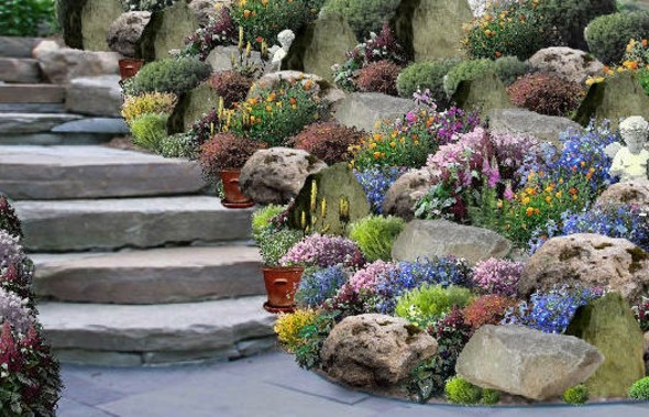 Des id es de jardin zen moving tahiti for Idees rocailles jardin