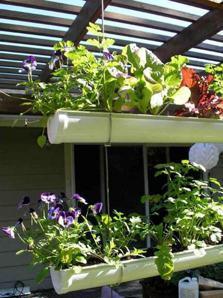 suspendre son jardin des id es ing nieuses moving tahiti. Black Bedroom Furniture Sets. Home Design Ideas