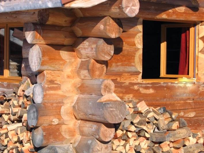 la fuste une maison en rondin de bois moving tahiti. Black Bedroom Furniture Sets. Home Design Ideas