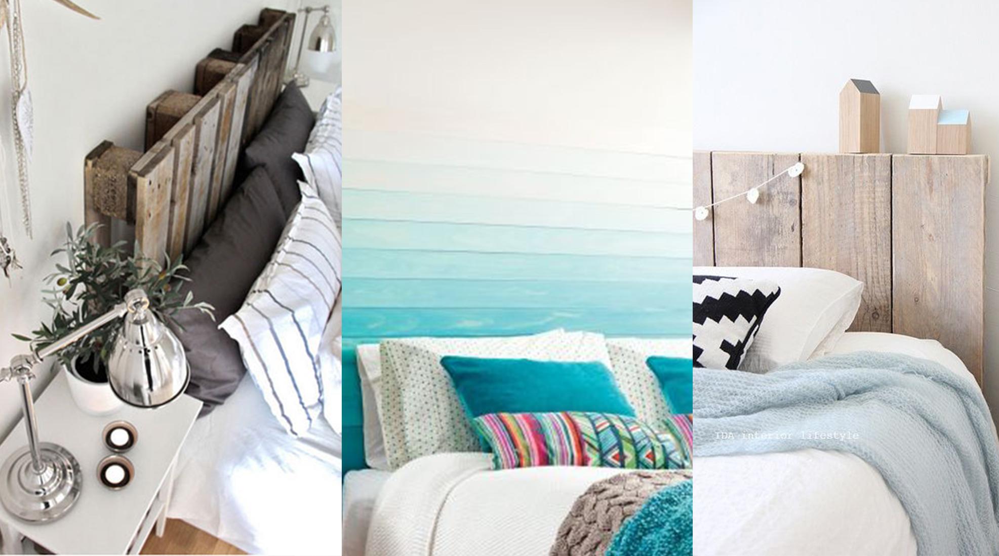 diy : réaliser sa tête de lit en palettes