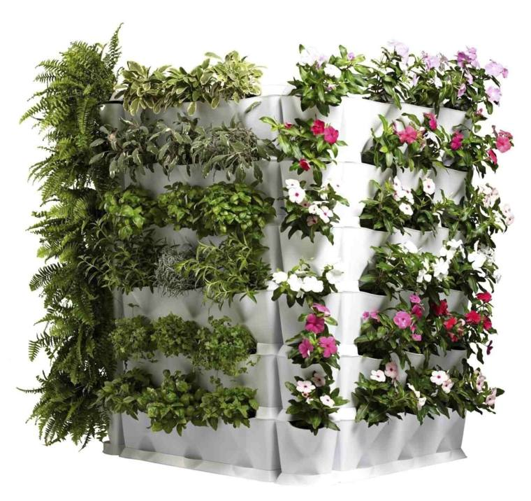 Un Jardin Ou Un Potager Vertical L 39 Int Rieur Ou L 39 Ext Rieur Moving Tahiti