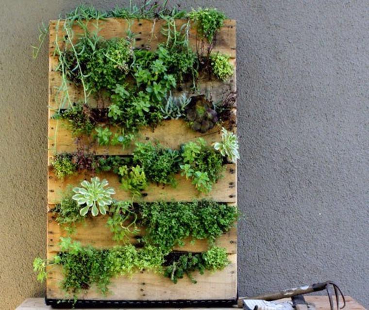 Un jardin ou un potager vertical l 39 int rieur ou l for Realiser un mur vegetal