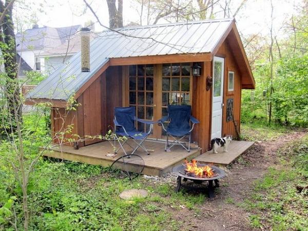 Une mini maison ou tiny house la nouvelle tendance for Minimaliste mini maison