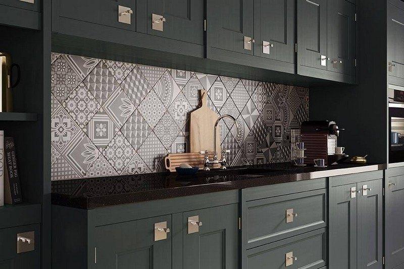 Des carreaux de ciment dans votre cuisine moving tahiti for Credence cuisine carreaux de ciment