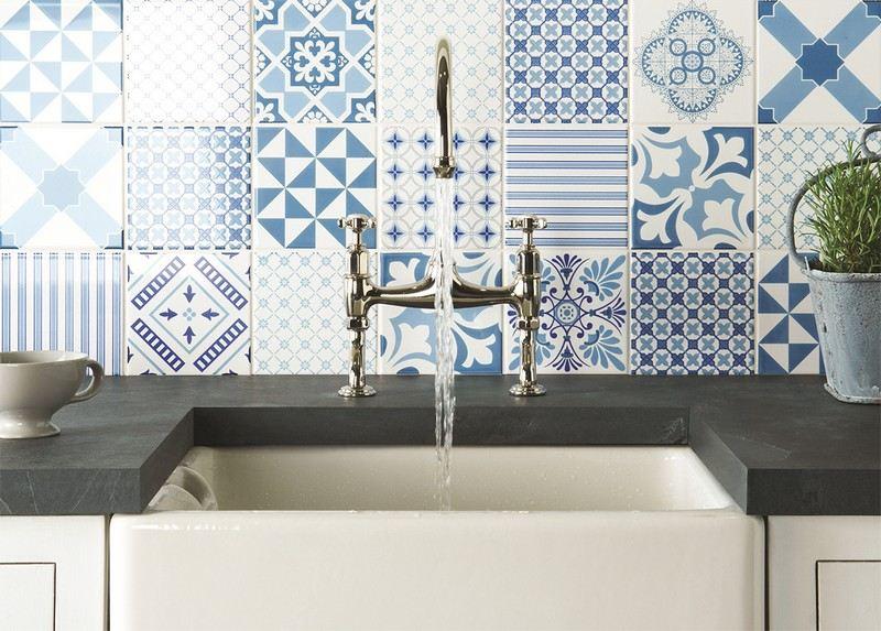 des carreaux de ciment dans votre cuisine moving tahiti. Black Bedroom Furniture Sets. Home Design Ideas