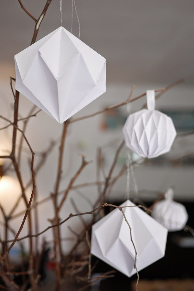 Diy notre s lection de d corations de no l faire soi - Decoration de noel a fabriquer en papier ...