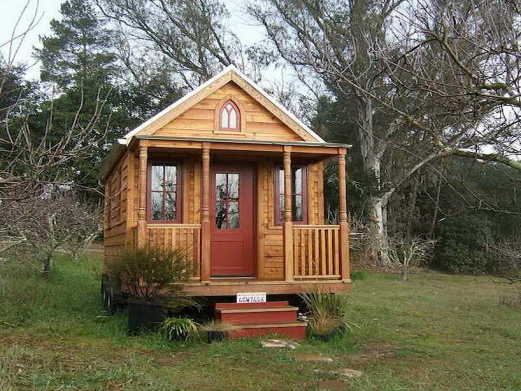 Une mini maison ou tiny house la nouvelle tendance for Small house design books