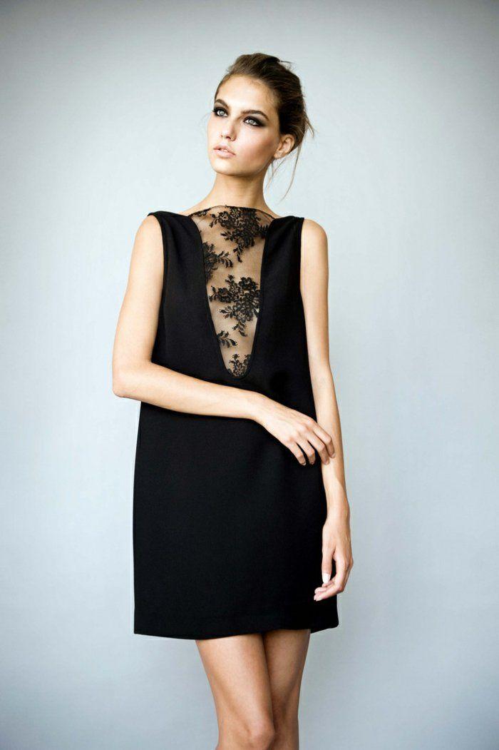 Petite robe noire pour fete