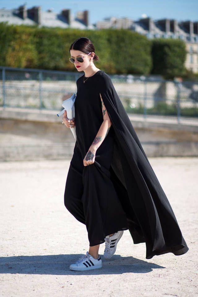 Comment porter une robe avec des baskets moving tahiti - Comment porter des bottines avec un slim ...