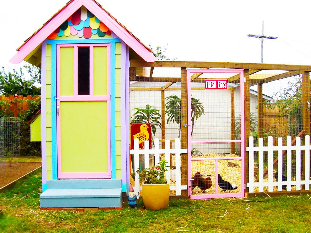 Un poulailler design dans votre jardin moving tahiti for Bruler dans son jardin