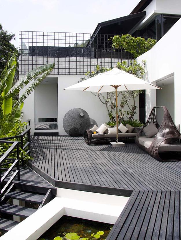 Les plus belles terrasses trouv es sur pinterest moving tahiti - Les plus belles terrasses de maison ...