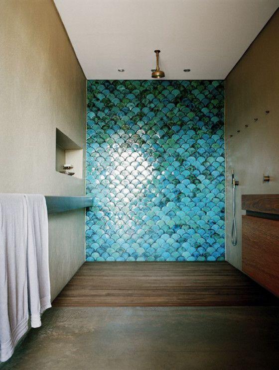 Adoptez le turquoise dans votre d co int rieure et for Salle bain turquoise