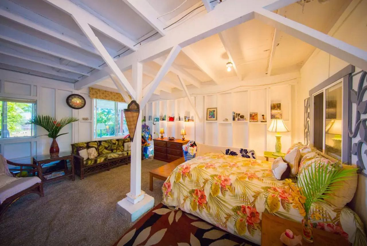 Decoration Hawaii Chambres