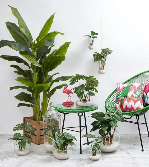 une ambiance tropicale dans la maison moving tahiti. Black Bedroom Furniture Sets. Home Design Ideas