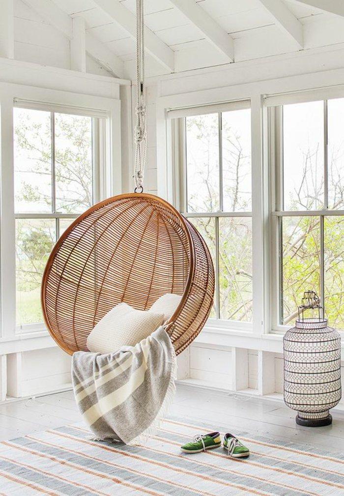 Cool chambre a coucher deco salle de sejour fauteuil rotin for Idee deco ikea sejour