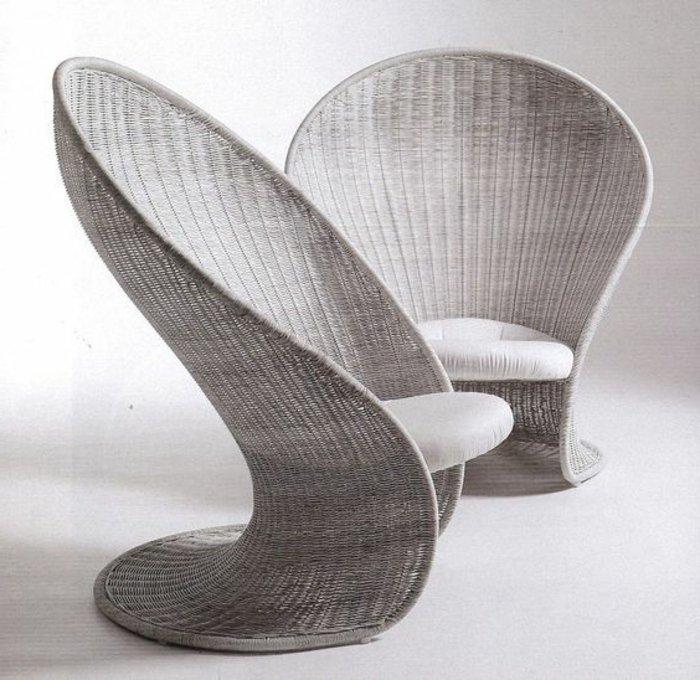 Le fauteuil en rotin pour une d co coloniale exotique - Meuble rotin pas cher ...