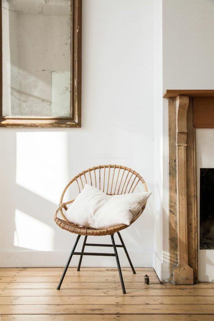 Le fauteuil en rotin pour une d co coloniale exotique - Salon rotin interieur ...