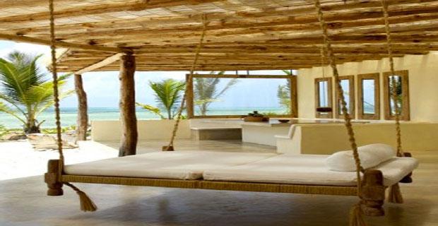 Le lit de jardin suspendu, une déco facile à réaliser - Moving Tahiti