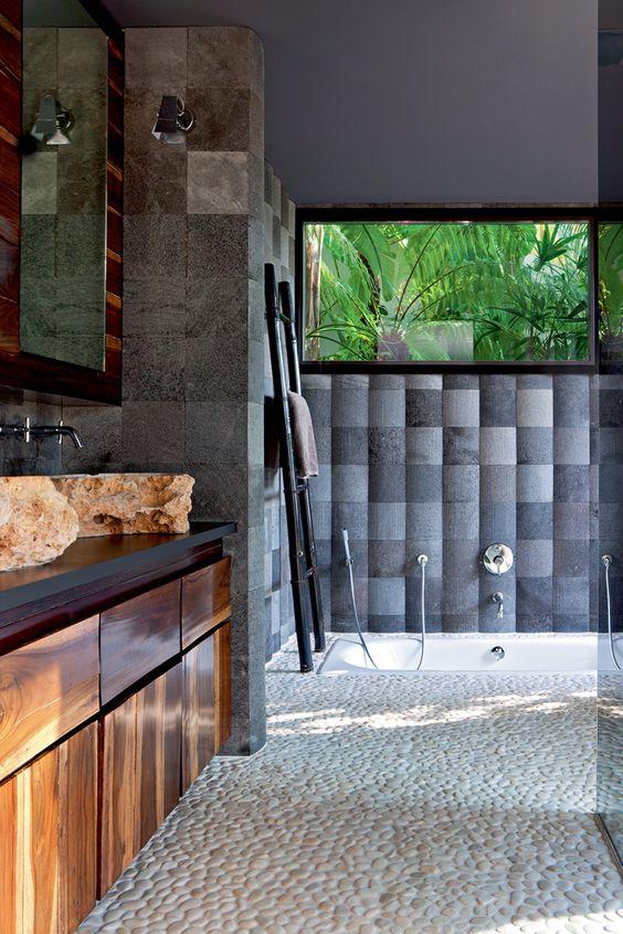 Sublimez Votre Salle De Bain Avec Des Galets - Moving Tahiti