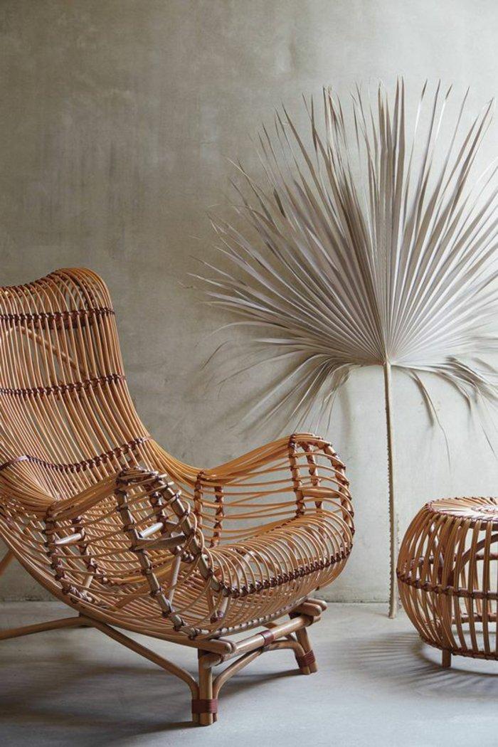 Le fauteuil en rotin pour une d co coloniale exotique - Canape en osier ou rotin ...